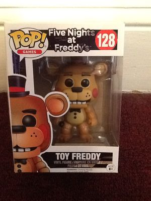 Five Nights at Freddy's - Toy Freddy - Pop figure for Sale in Brooklyn, OH