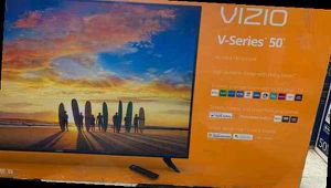 "Brand New 50"" 4K HD! Vizio V-Series! Open box w/ warranty AEF for Sale in Houston, TX"