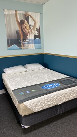 Simon 12 '' Cooling Gel Memory Foam Mattress FINANCE NO CREDIT NEEDED 0 for Sale in Irving, TX