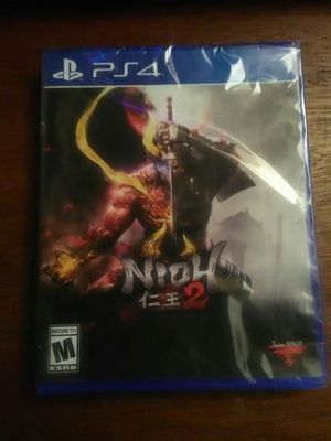 Nioh 2 unopened for Sale in Washington, DC