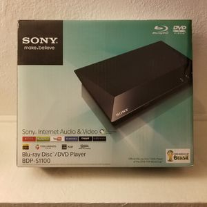 Sony Blue-ray Disc /DVD Player. BDP-S1100 for Sale in Anaheim, CA