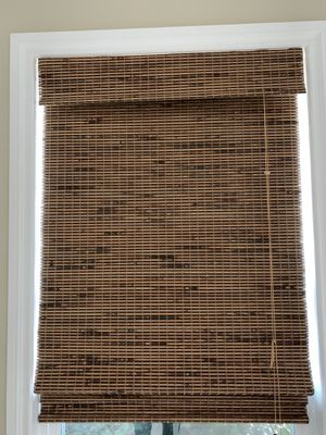 """Brand New '2' Kirsch """"Bamboo & Woven Wood Shades"""" w25 x L83 for Sale in Mission Viejo, CA"""