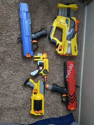 Lot of Nerf guns N-strike and Rival for Sale in Rialto, CA