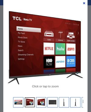 "TCL - 50"" Roku TV for Sale in Fresno, CA"