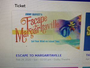 Musical show tickets 2 tickets at Dolby theater. for Sale in Torrance, CA