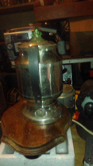 1950's Hotpoint coffee in incredible shape. Complete with all parts but plug in cord. Extremely rare. Won't find any in this shape. for Sale in Pawhuska, OK