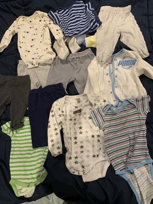 Baby boy clothes size 3 month for Sale in Tustin, CA