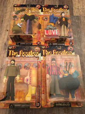 The Beatles Yellow Submarine 1999 McFarlane Toys collectibles for Sale in Portland, OR