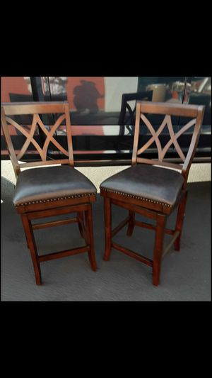 Leather bar stools for Sale in Camas, WA