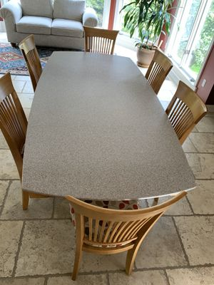 Corian Kitchen table set for Sale in Bloomfield Hills, MI
