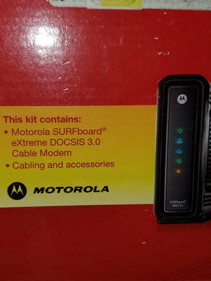 Motorola cable modem for Sale in Columbus, OH