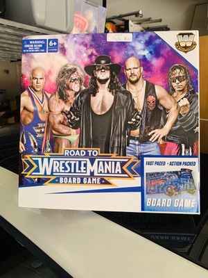 WWE road to wrestle mania board game toy for Sale in Phoenix, AZ