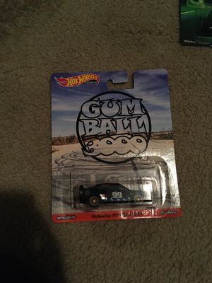 Gum ball 3000 hot wheels for Sale in San Diego, CA