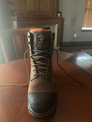 Men's size 11 New Leather Steel Toed Workboots for Sale in Arlington, TX