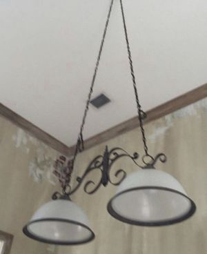 Metal Light Fixture for Sale in Davie, FL
