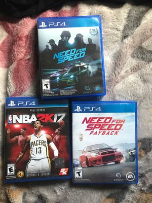 PS4 games for Sale in Rio Linda, CA