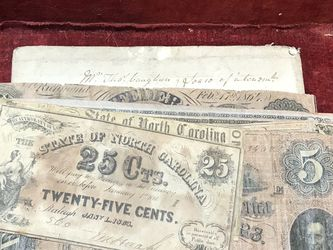 13 Authentic Original Rare Confederate Currency for Sale in Whittier, CA