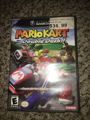 Nintendo game cube with Mario Kart and other games for Sale in Tampa, FL