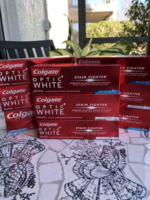 9 Colgate Optic White toothpastes $15 for Sale in Kissimmee, FL