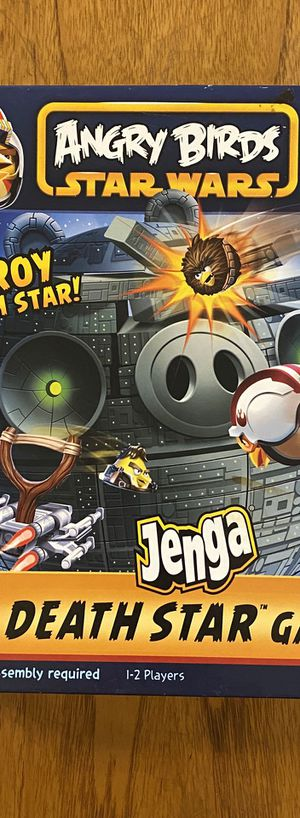 Angry Birds Star Wars Death Star Jenga Board Game (complete) for Sale in Phoenix, AZ