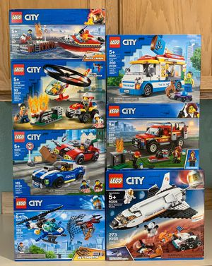 Lot of 7 LEGO City Sets for Sale in Maple Valley, WA