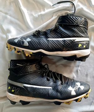 Under Armour Cleats Size 9.5 mens for Sale in Tucson, AZ