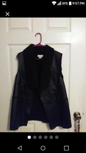 Liz Claiborne Faux Sherling Vest Xl for Sale in Orlando, FL