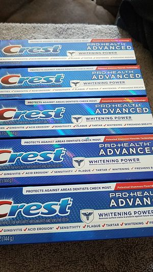 Crest pro health advanced toothpaste for Sale in San Diego, CA