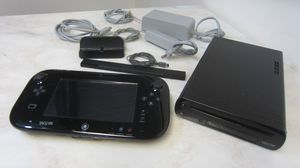 Nintendo Wii U game console in black for Sale in FL, US