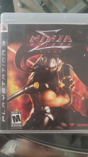 ninja gaiden sigma - ps3 for Sale in Las Vegas, NV