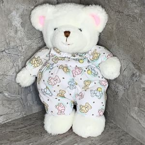 Vintage Carters Prestige Plush Rattle Bear Baby Lovie Pastel Pink White for Sale in Centerton, AR