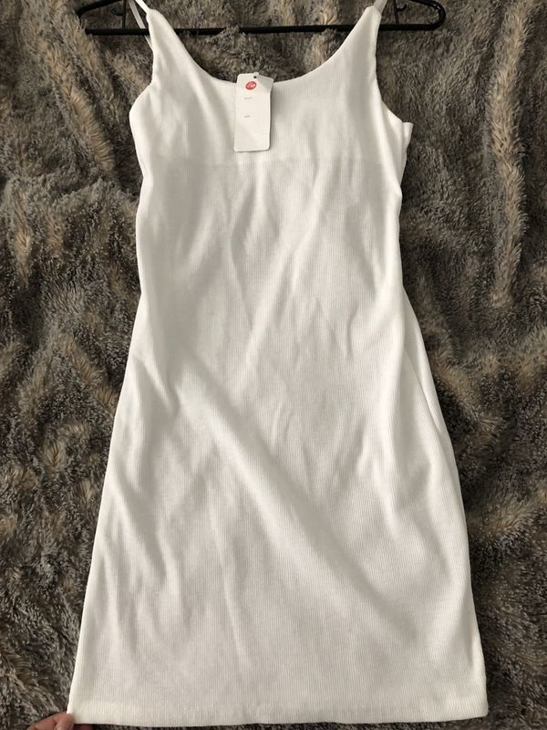 New With Tag Bodycon White Dress