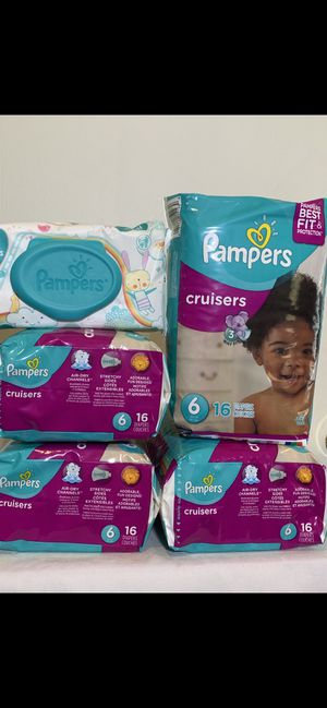 Pampers cruisers size 6 👶👶 $30 for all for Sale in Hawthorne, CA
