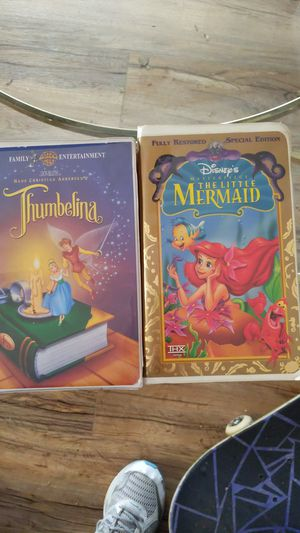 2 VHS tapes. for Sale in Mesa, AZ