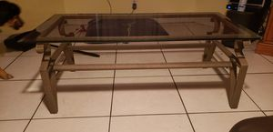 Glass top coffee table set for Sale in Pompano Beach, FL