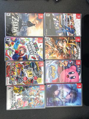 Nintendo Switch games for sale for Sale in San Marcos, CA