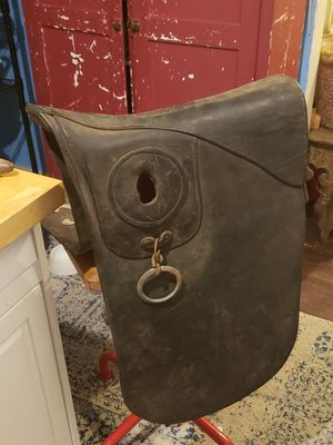 Antique leather mule pack saddle for Sale in Columbus, OH