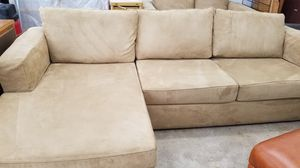 Couch with chaise for Sale in Eagle River, WI