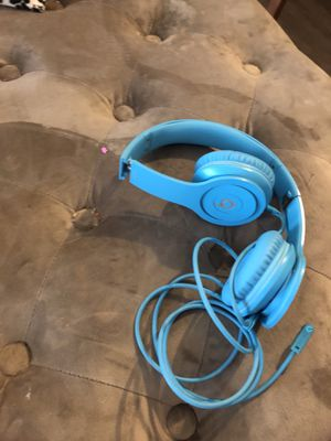 Blue beats headphones for Sale in Fort Myers, FL