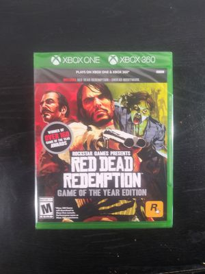 Red Dead Redemption Game of the year Xbox One & Xbox 360 for Sale in Milwaukee, WI