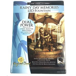 Newport Coast LED Small Rainy Day Fountain for Sale in Enterprise, AL