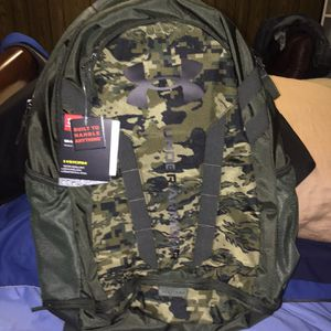 Under Armour Camo Backpack New for Sale in Auburn, WA