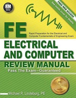 PPI FE Electrical and Computer Review Manual (Paperback) – Comprehensive FE Book for the FE Electrical and Computer Exam for Sale in Bremerton, WA