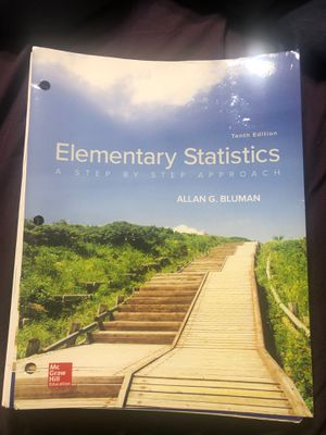 Elementary Statistics - 10th Edition for Sale in Claremont, CA