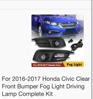 Fog light complete kit for Sale in Falls Church, VA
