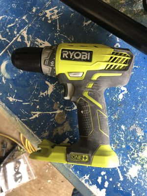 Ryobi drill 18volt drill only for Sale in Irving, TX