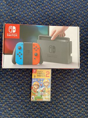 Like New Nintendo Switch Bundle for Sale in Chino, CA