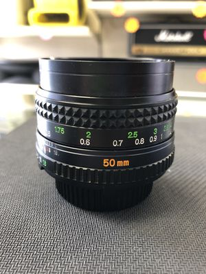 Minolta 50mm Camera Lens for Sale in Humble, TX