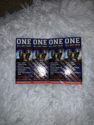 Paintball Admission Tickets for Sale in Carlsbad, CA