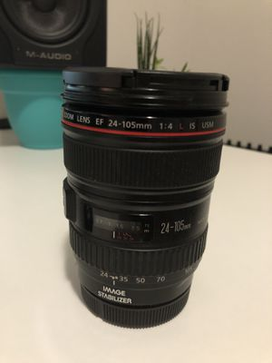 Canon EF 24-105 f/4 L IS USM for Sale in Everett, WA